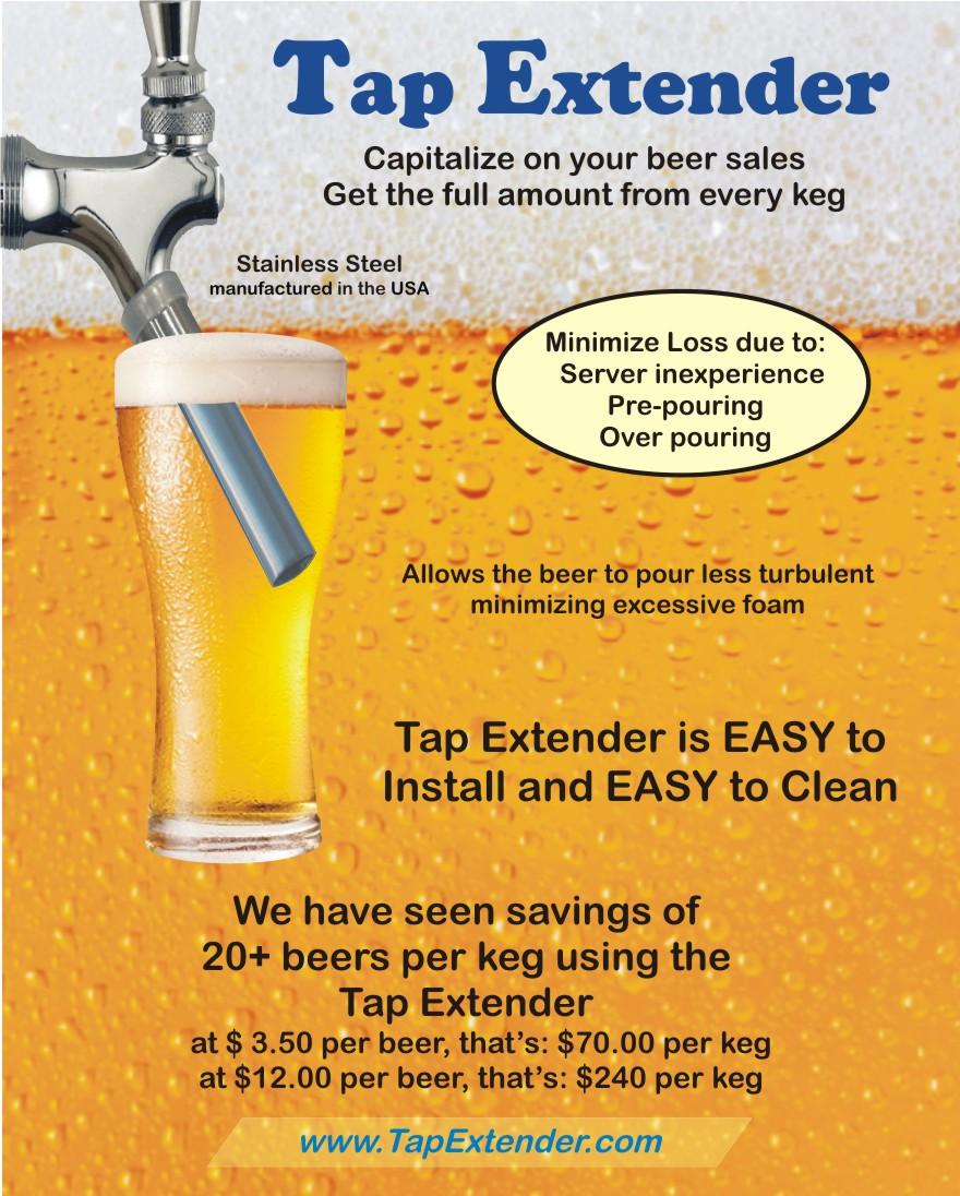 Beer Tap Extender